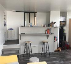 Studio – Lit coulissant sous plancher