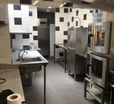 Création cuisine/laverie