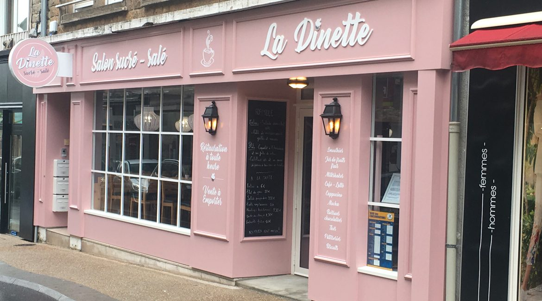 Restaurant/salon de thé LA DINETTE